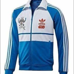 Adidas RARE L Skywalker Rebel Alliance Jacket. Lg